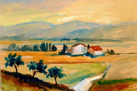 Quadri Paesaggi - case in campagna / Pittori e Quadri